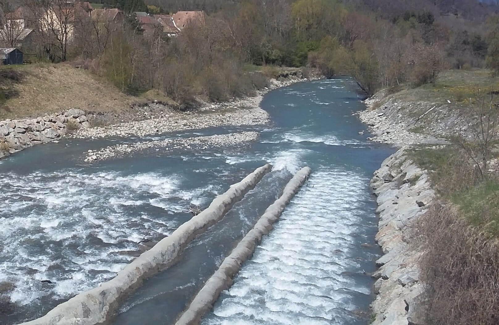 Aménagement de la riviere Drac