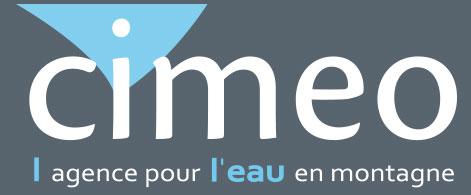 Cimeo Agence pour l'eau en montagne